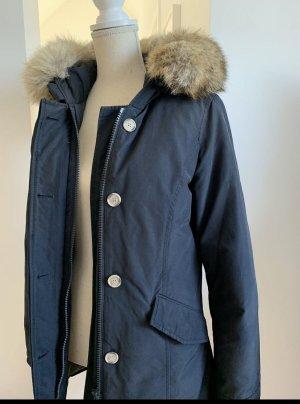 Woolrich Kurtka zimowa ciemnoniebieski