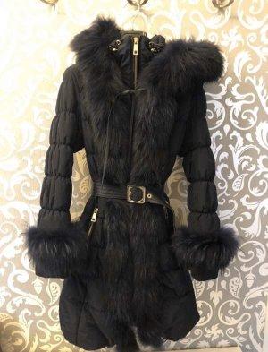 100% Fashion Winterjack blauw