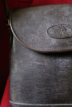 Mulberry Crossbody bag black leather