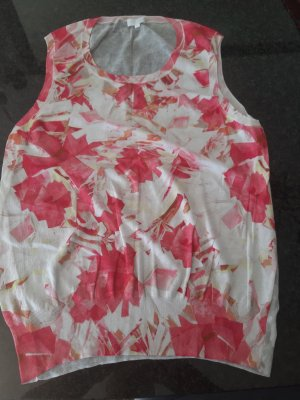 Escada Short Sleeve Sweater multicolored