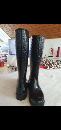 Louis Vuitton Wellies black