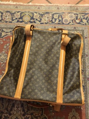Louis Vuitton Torba podróżna jasnobrązowy Skóra