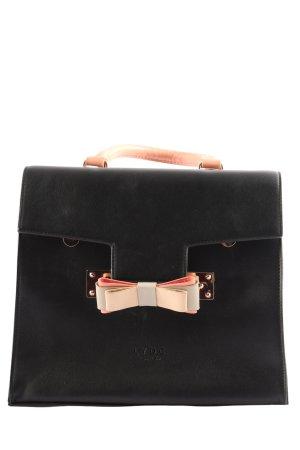 LYDC London Handtasche schwarz-nude Business-Look