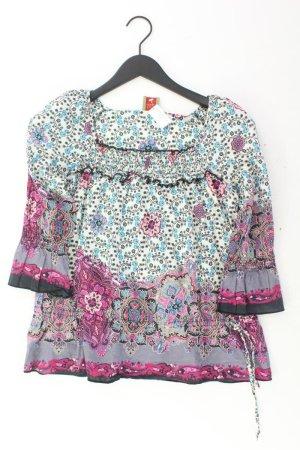 Lykkelig Bluse Größe 36 3/4 Ärmel mehrfarbig aus Baumwolle