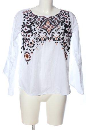 lykkelig Langarm-Bluse