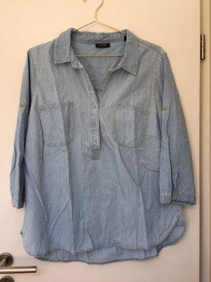Woman by Tchibo Jeansowa koszula błękitny
