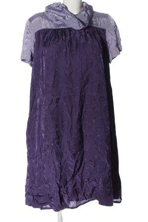 Lysgaard Sukienka z krótkim rękawem fiolet W stylu casual