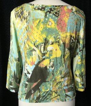 Roberto Cavalli Basic Shirt multicolored spandex