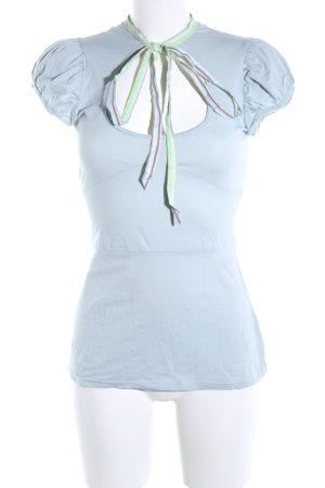 m.a.p.h.i.a Camicia a tunica blu stile casual