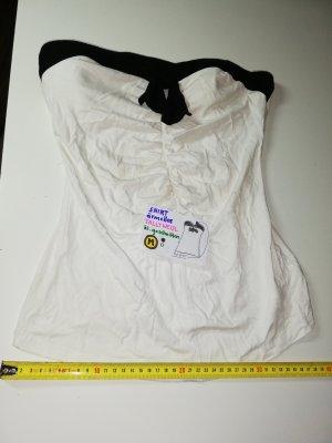 M ärmelloses Shirt Tally Weijl weiß schwarz