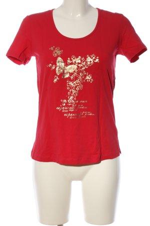 M. Asam Print-Shirt