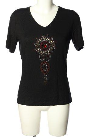 M. Asam T-Shirt mehrfarbig Casual-Look