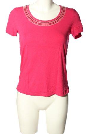 M. Asam T-Shirt pink Casual-Look