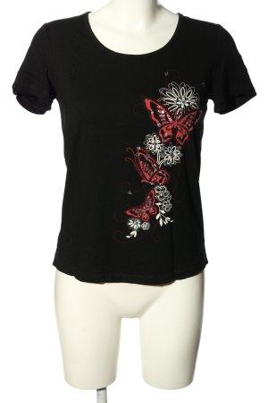 M. Asam T-Shirt Motivdruck Casual-Look