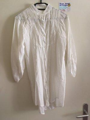 M Bluse Hemd weiß