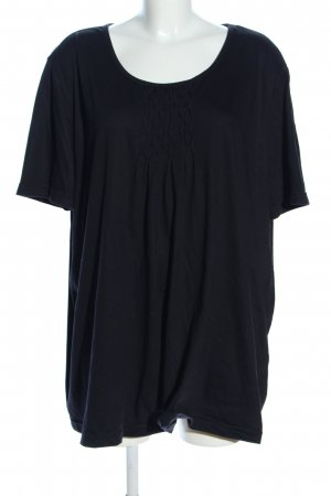 M. Collection T-Shirt schwarz Casual-Look