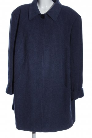 M. Collection Wollmantel blau Casual-Look