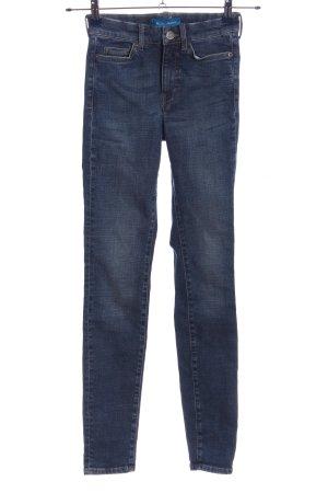 M.I.H. Jeans Vaquero pitillo azul look casual