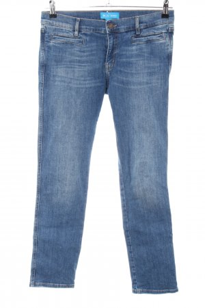 Mih jeans Slim Jeans blau Casual-Look