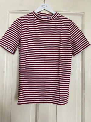 m.i.h. T-Shirt miH Streifen rot - S/M