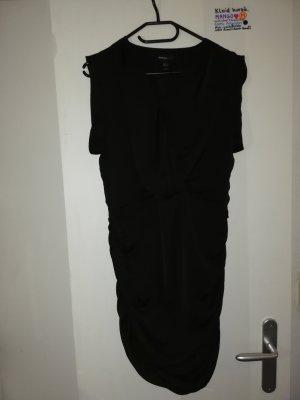 ❤️ M Kleid schwarz Mango mit mini Loch