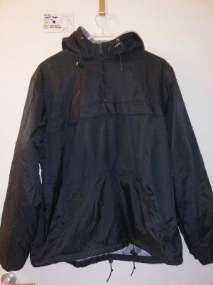 M L Jacke sport regen by design schwarz mit kapuze