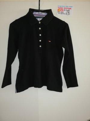 M langärmeliges Shirt Tommy Hilfiger schwarz