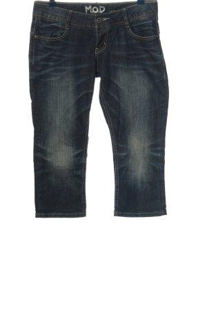 M.O.D. 3/4 Jeans blau Casual-Look