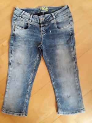 M.O.D. Short en jean bleu
