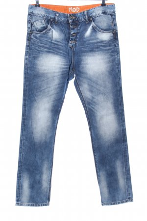 M.O.D. Boyfriend jeans blauw casual uitstraling