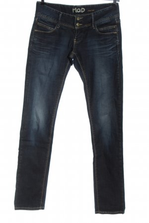 M.O.D. Low Rise Jeans blue casual look