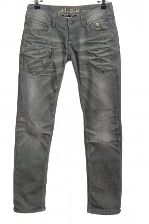 M.O.D. Low Rise Jeans light grey casual look