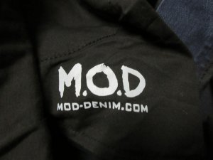 M.O.D. Stretch Jeans blue-dark grey