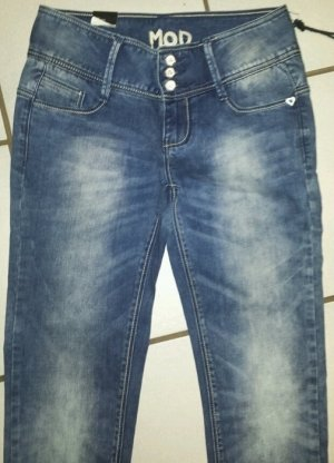 M.O.D Jeans Hose NEU W26 Skinny S 34 36