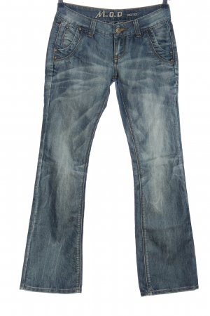 M.O.D. Denim Flares blue casual look