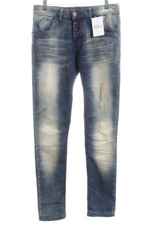 M.O.D. Straight-Leg Jeans stahlblau Casual-Look
