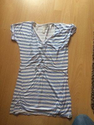 M.O.D. V-Neck Shirt white-azure