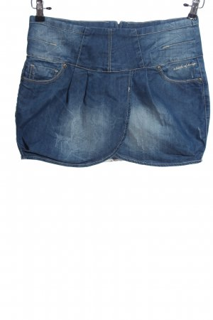 M.O.D. Wraparound Skirt blue casual look