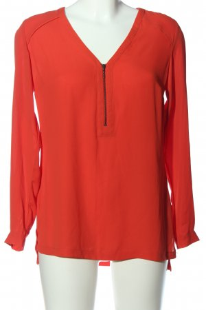 M&S Collection Langarm-Bluse rot Casual-Look
