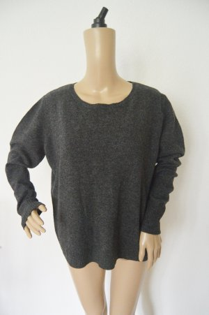 Marks and Spencer Jersey con cuello de pico gris