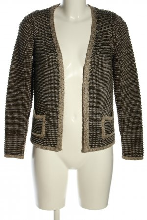 M&S Collection Strickjacke Webmuster Casual-Look