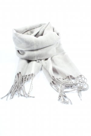 M&S Fringed Scarf light grey casual look