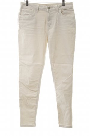 M&S Hoge taille broek wolwit casual uitstraling