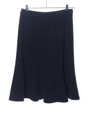 M&S High Waist Rock blau Business-Look