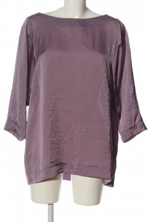 M&S Langarm-Bluse lila Casual-Look