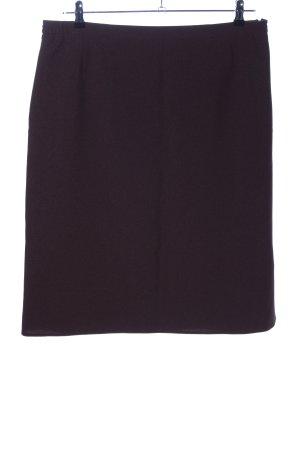 M&S Falda de lino marrón look casual