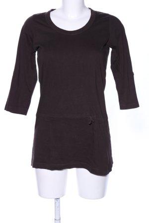 M&S Longshirt braun Casual-Look