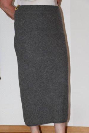 M&S Maxi Skirt grey wool