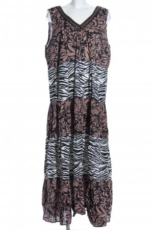M&S Maxikleid abstraktes Muster Casual-Look