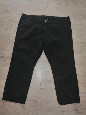 M&S Mode 3/4 Jeans schwarz Größe 50